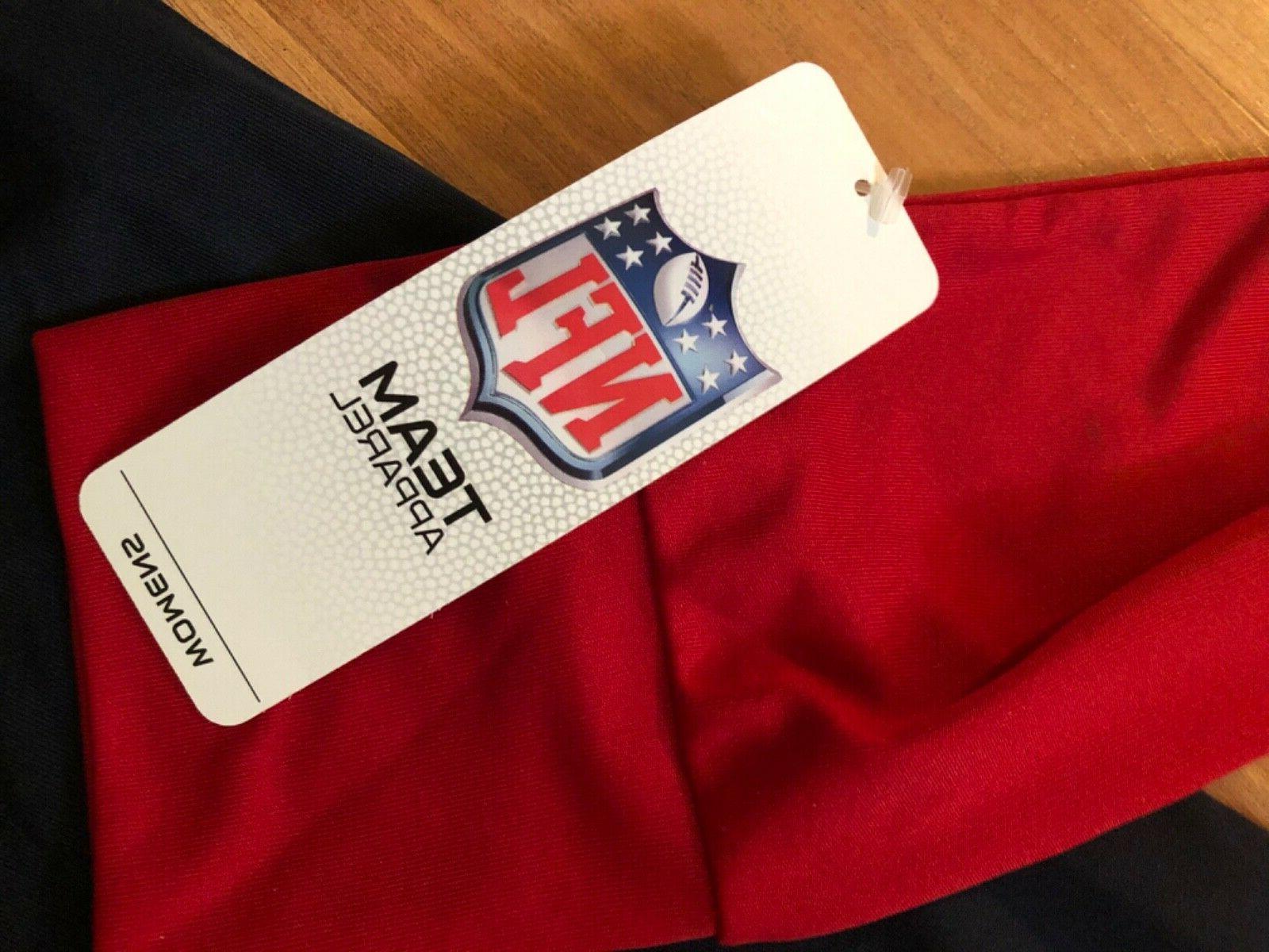 Houston Women's NFL Team Zip NWT