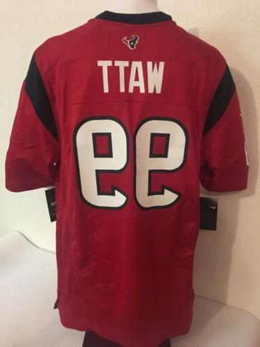 jj watt houston texans game jersey red