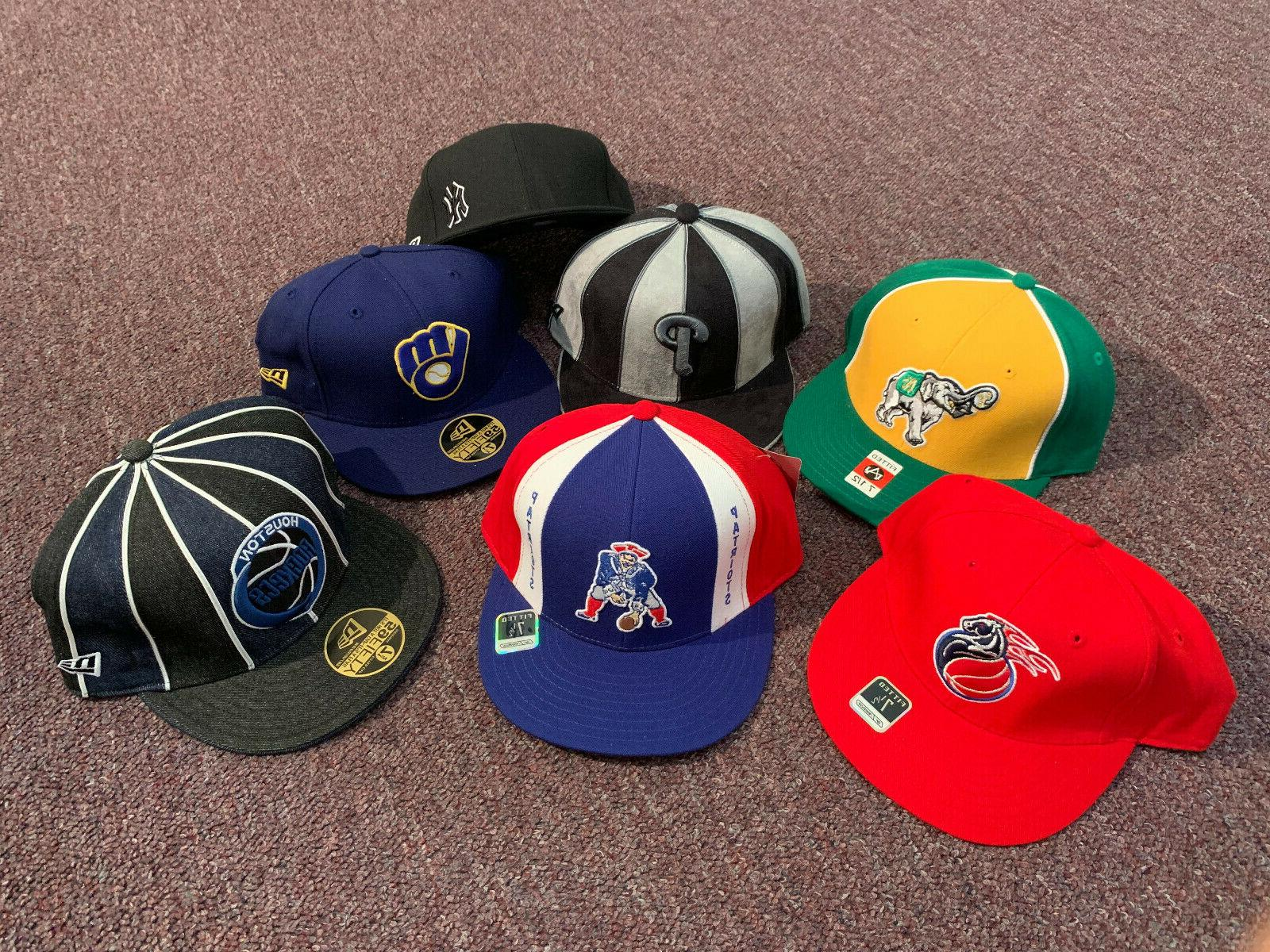 NBA Baseball Caps, 7-1/2, Reebok New Original