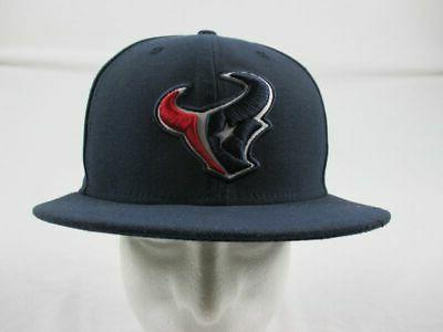 new houston texans navy fitted hat multiple