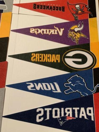 NEW Teams Mini Pennants Team Flag