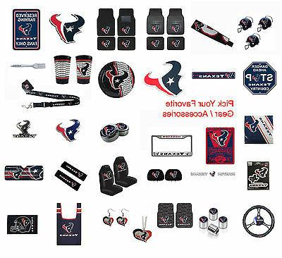 new nfl houston texans pick your gear