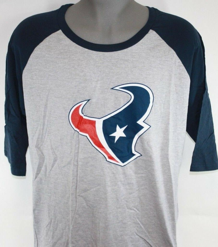 new womens houston texans 3 4 sleeve