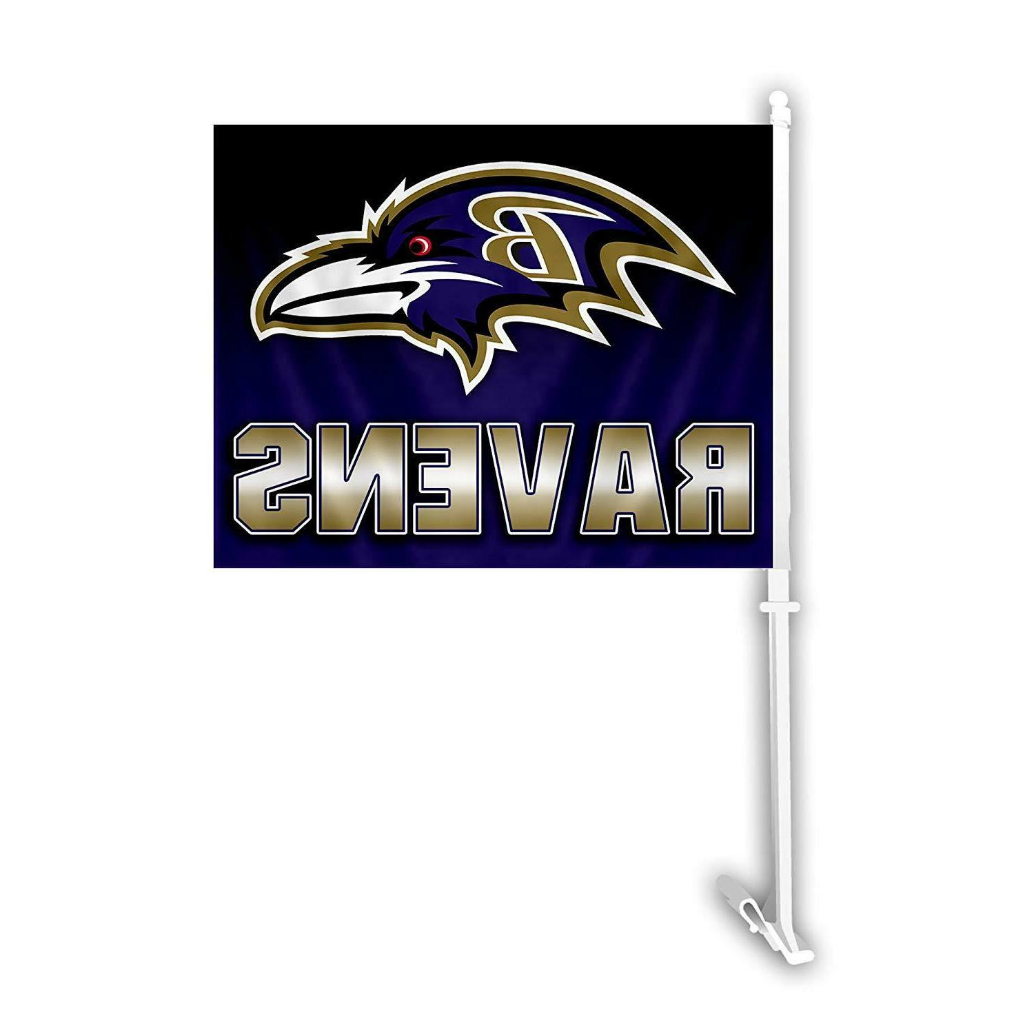 NFL Football Team Car Window Flag Day Tailgate or