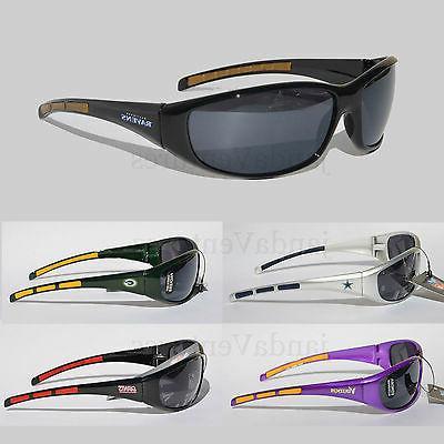 nfl football team sunglasses wrap style uv