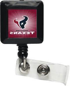 NFL Houston Texans 14145021 Retractable Badge Holder