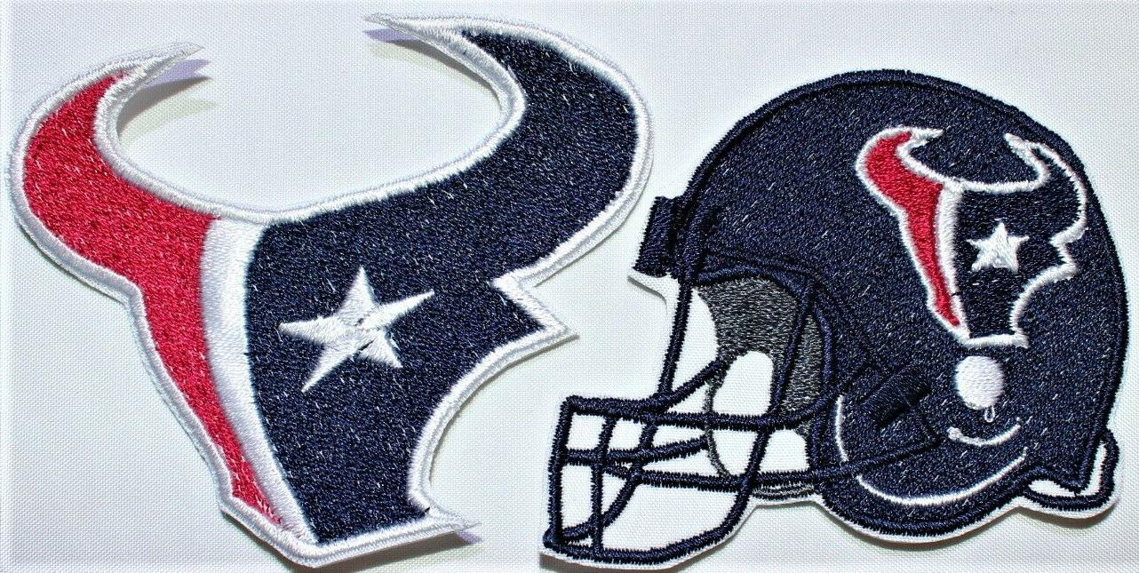 nfl houston texans embroidered iron on patch