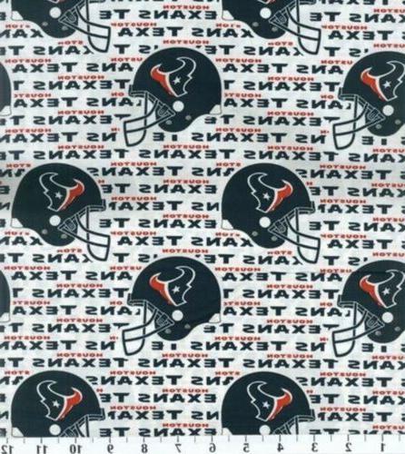 "NFL football cotton 1/4 yd, 9"" x"