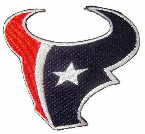 nfl houston texans hat patch sport embroidery