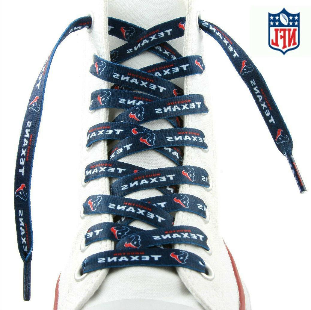 nfl houston texansteam logo lace ups shoe
