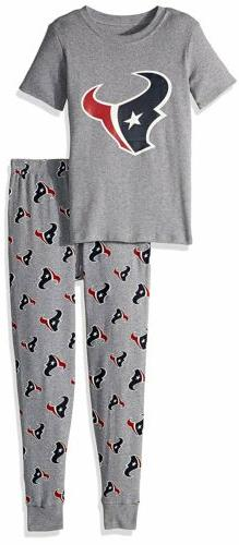 OuterStuff NFL Kids Houston Texans Sleepwear Short Sleeve Te