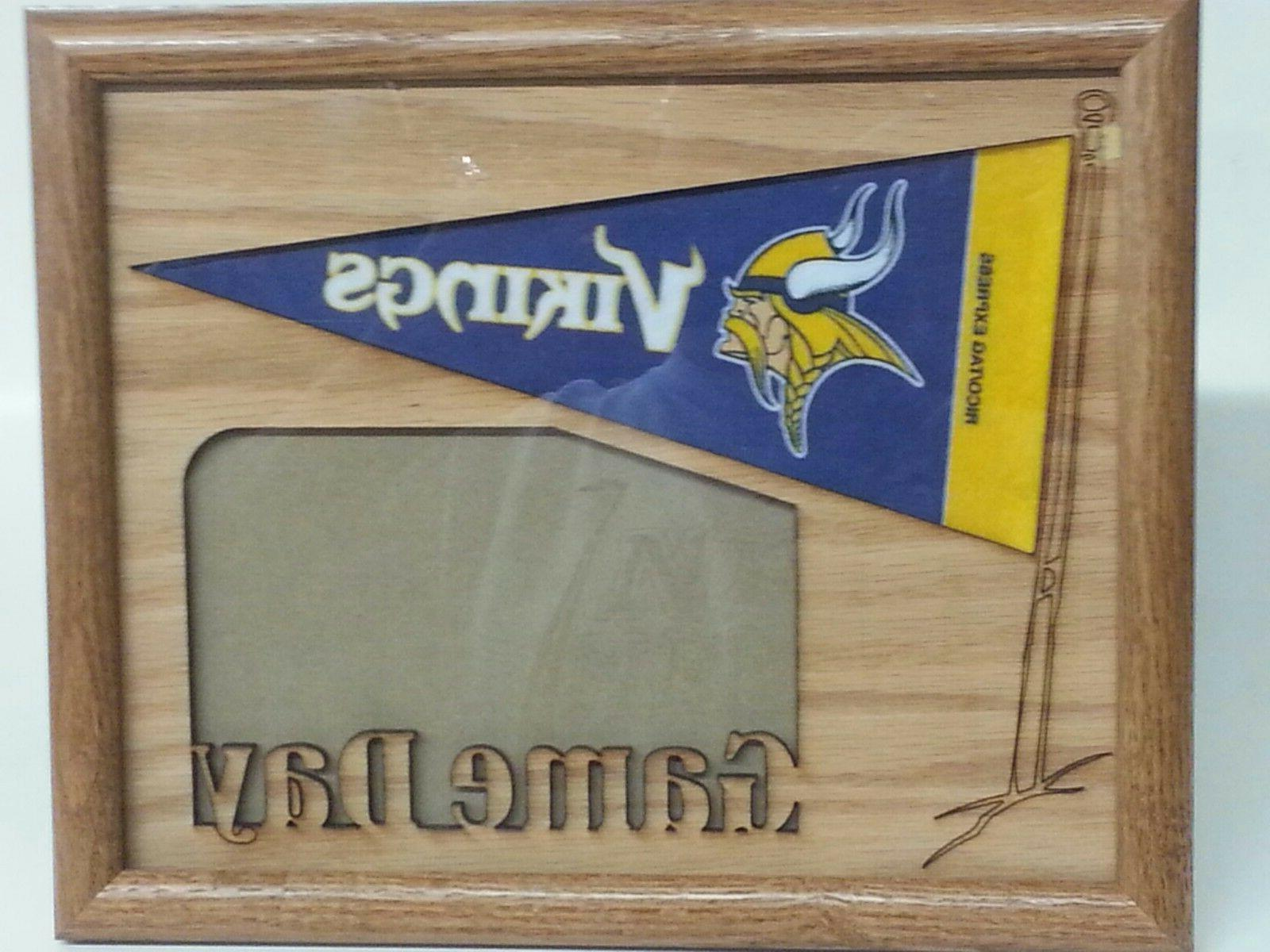 nfl oak picture frame game day new