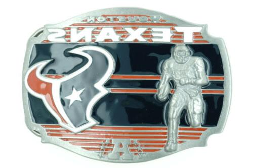 nfl officially licensed houston texans football metal