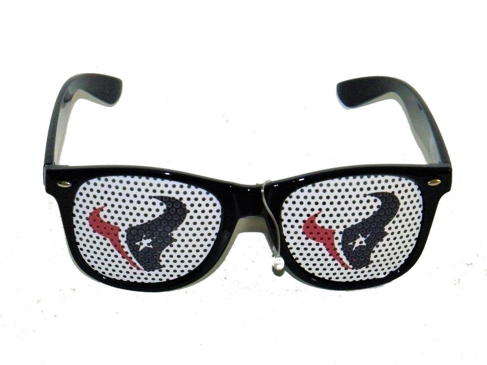 nfl teams logo sunglasses houston texans game