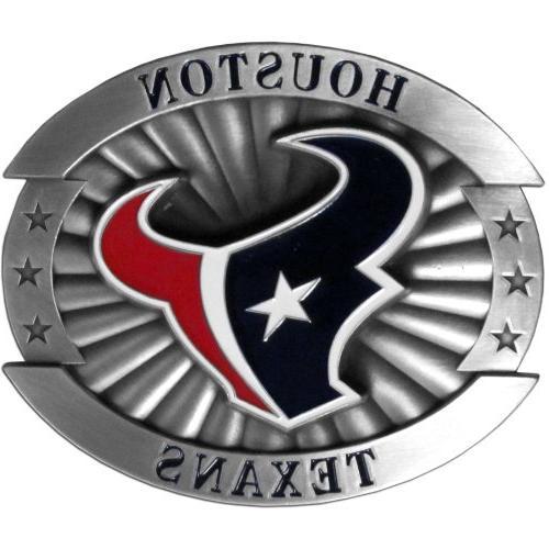 ofb190 houston texans oversized buckle