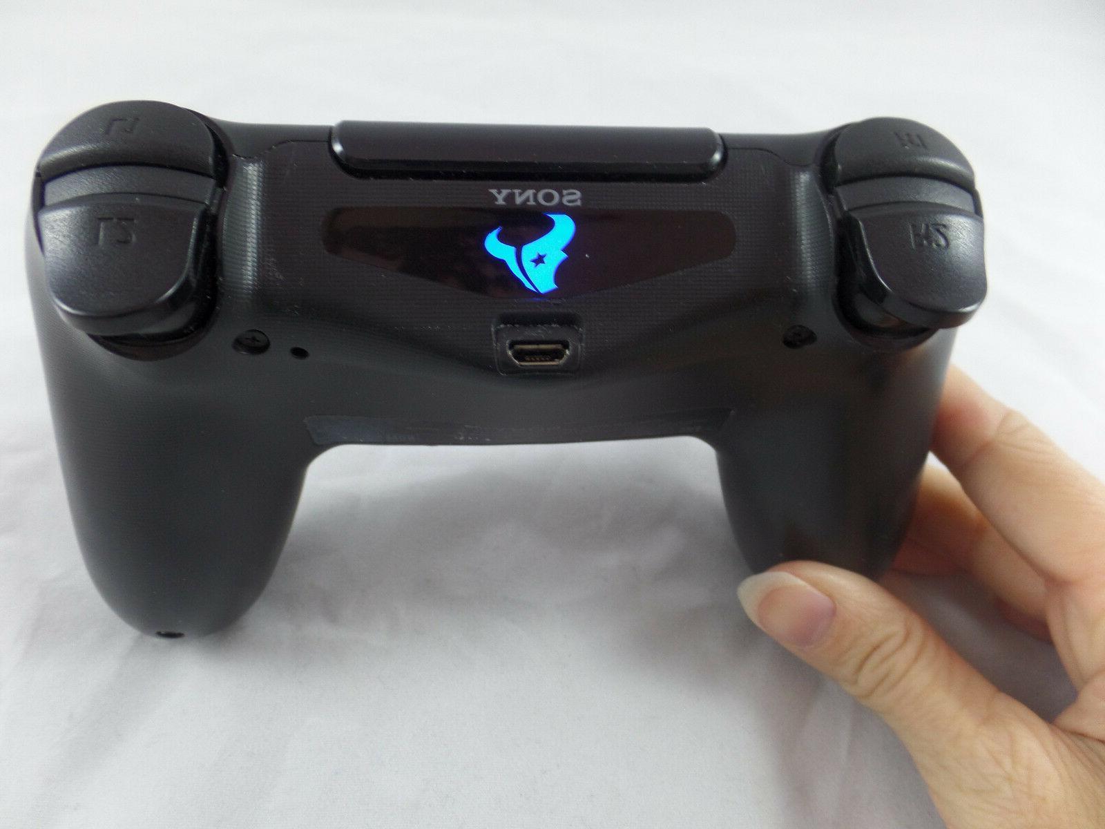playstation ps4 controller houston texans light bar