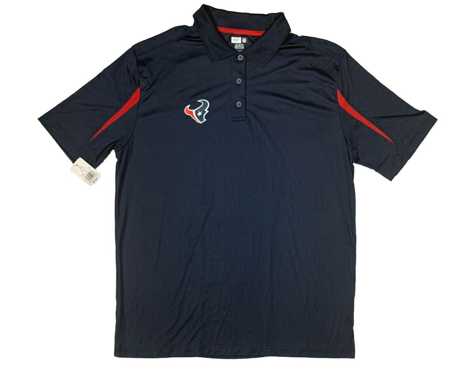 team apparel houston texans men s xl