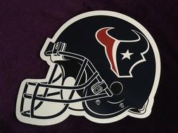 LARGE HOUSTON TEXANS MAGNETIC FOOTBALL HELMET MAGNET for CAR