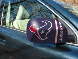 Licensed NFL Houston Texans Car Mirror Covers  - Cars/Small