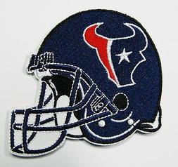 LOT OF  NEW NFL HOUSTON TEXANS EMBROIDERED HELMET PATCHES IT
