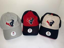 Lot Of 3 Houston Texans Baseball Hats **NEW**