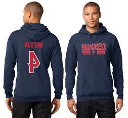 New Deshaun Watson 4 Houston Texans Hoodie Jersey Hooded Swe