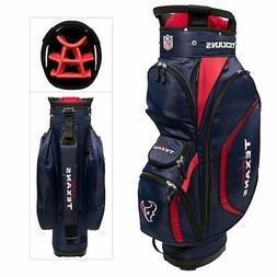 New Team Golf Houston Texans Clubhouse Golf Cart Bag