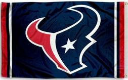 NEW Houston Texans Flag Large 3'X5' Sports NFL Banner FREE S