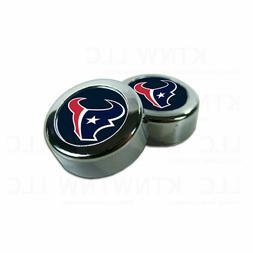 NEW Houston Texans Football License Plate Frame Screw Caps/B