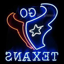 New Houston Texans Go Texans Texas Lamp Light Artwork Neon S