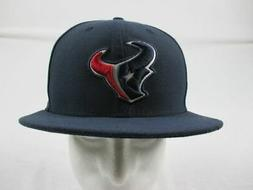 NEW New Era Houston Texans - Navy Fitted Hat