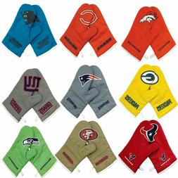 NEW Licensed Football Team Crossover Logo Grill/Oven Mitts -