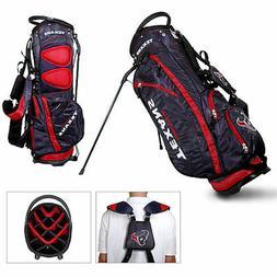 NEW Licensed NFL Houston Texans Team Golf Stand Bag