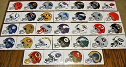 NEW NFL Helmet Stickers PICK ANY TEAM! Football Logo Decal P