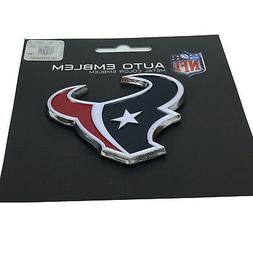 New NFL Houston Texans Auto Car Truck Heavy Duty Metal Color