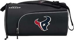 New NFL Houston Texans Squadron Premium Duffel Bag / Gym Bag