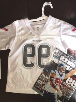 NFL 2019  HOUSTON TEXANS JJ WATT # 99 Licensed Jersey 4T SIZ