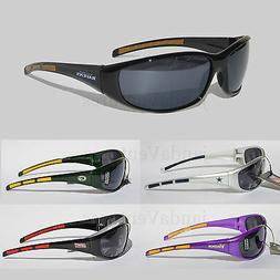 NFL Football Team Sunglasses - Wrap style - UV 400 Protectio