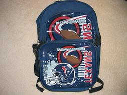 NFL Houston Texans Accelerator Backpack & Insulated Lunch Bo