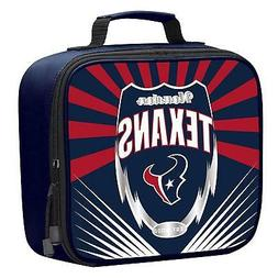 NFL Houston Texans Adult / Kids Insulated Lunch Box Bag Scho