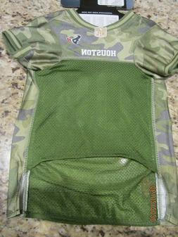 Pets First NFL Houston Texans Camouflage, Size: Large - Jers