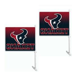 NFL Houston Texans Car Flag , 14x19.5