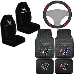 nfl houston texans car truck seat covers