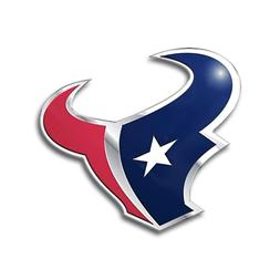 NFL Houston Texans Die Cut Color Automobile Emblem
