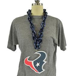 NFL Houston Texans Fanchain Big Chain Necklace Foam Magnet M
