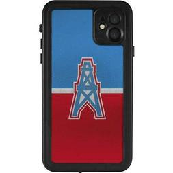 NFL Houston Texans iPhone 11 Waterproof Case - Houston Oiler