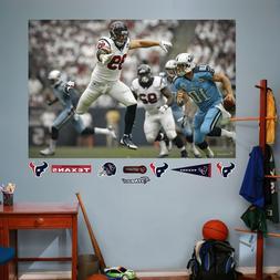 NFL Houston Texans JJ Watt Mural Big Wall Decal