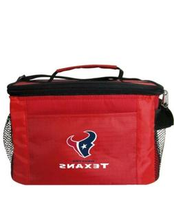 NFL Houston Texans Lunch Bag - Insulated Box Tote - 6-Pack C