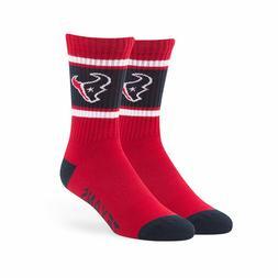 Houston Texans Men's NFL '47 Duster Casual Dress Crew Socks,
