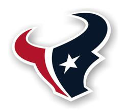 nfl houston texans vinyl logo